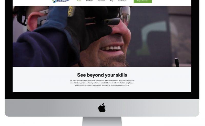 HeadApp website