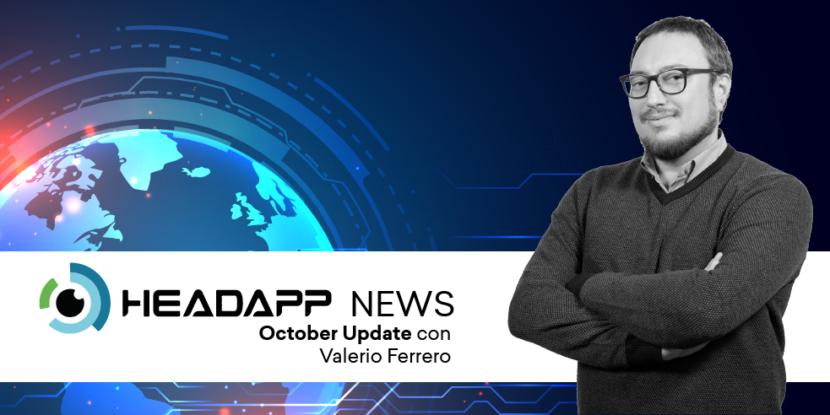 aggiornamenti di ottobre in headapp