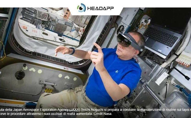 realtà aumentata per astronauti